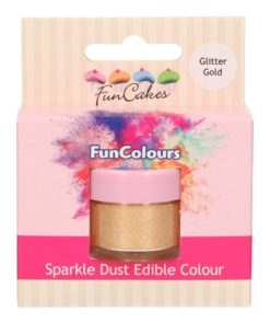 FunCakes Sparkle Dust Edible Colour Glitter Gold