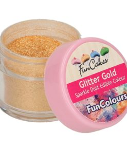 FunCakes Sparkle Dust Edible Colour Glitter Gold_