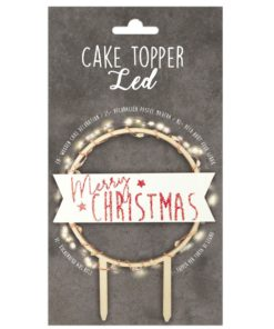 Tortentopper Scrapcooking Led Merry Christmas